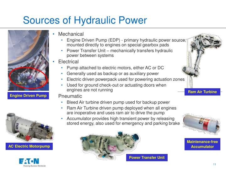 Ppt Aircraft Hydraulic System Design Powerpoint