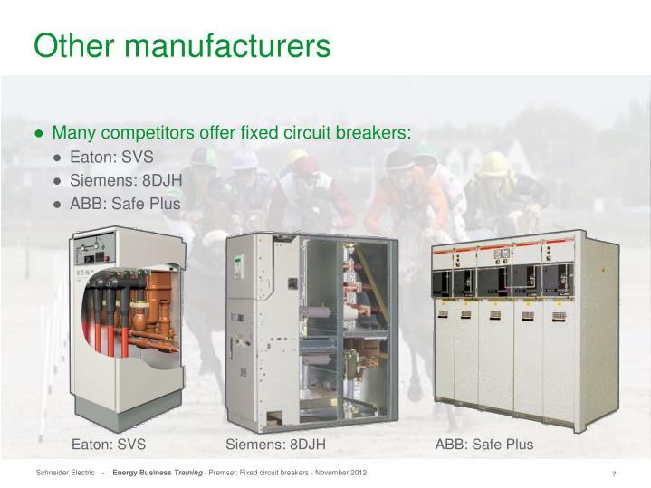 Siemens: 8DJH