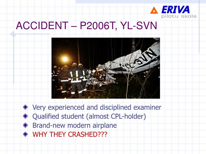 Accident p2006t yl svn
