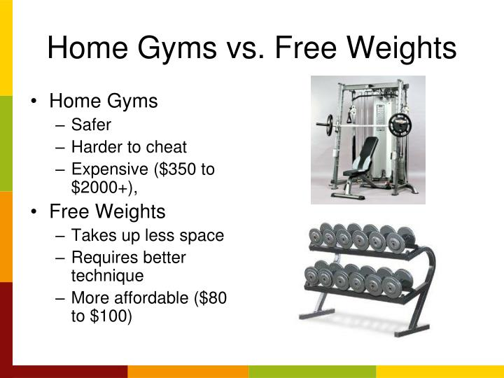 Ppt gyms equipment sports nutrition powerpoint