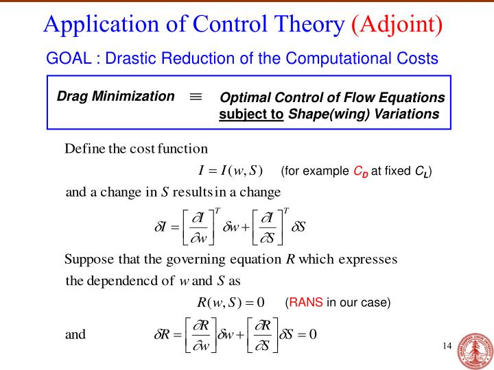 Application of Control Theory