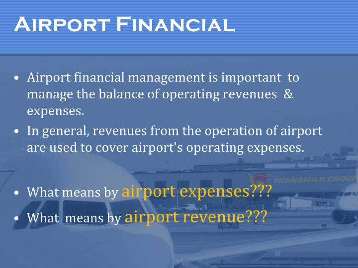 Airport financial