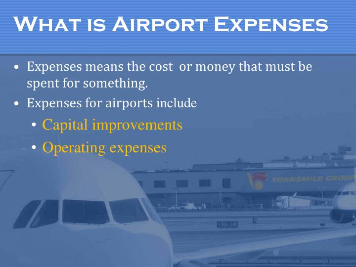 What is Airport Expenses