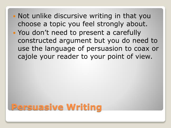 Persuasive essay structure sqa