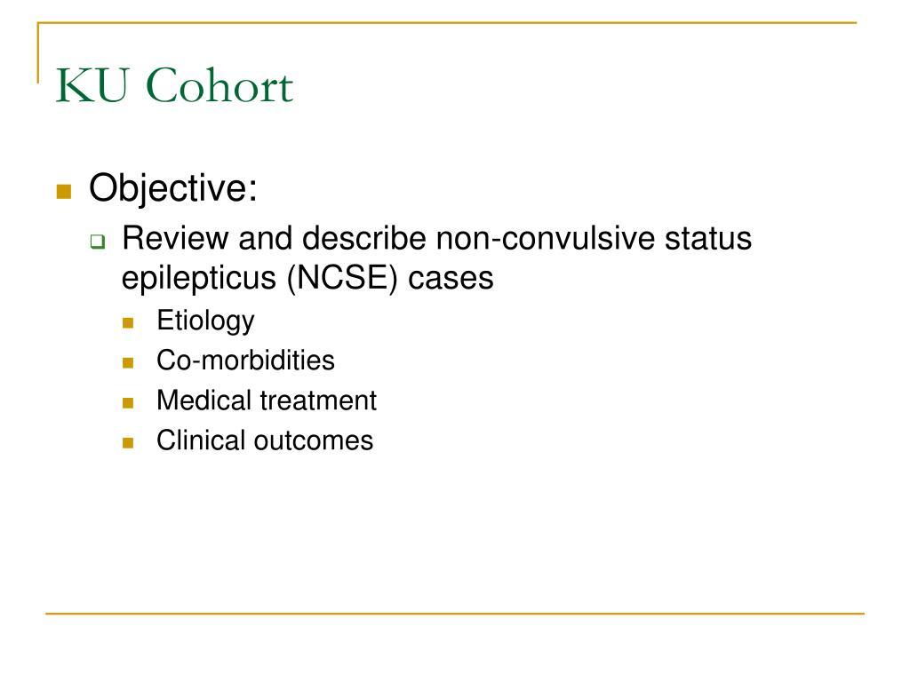 PPT - Non-Convulsive Status Epilepticus (NCSE): PowerPoint