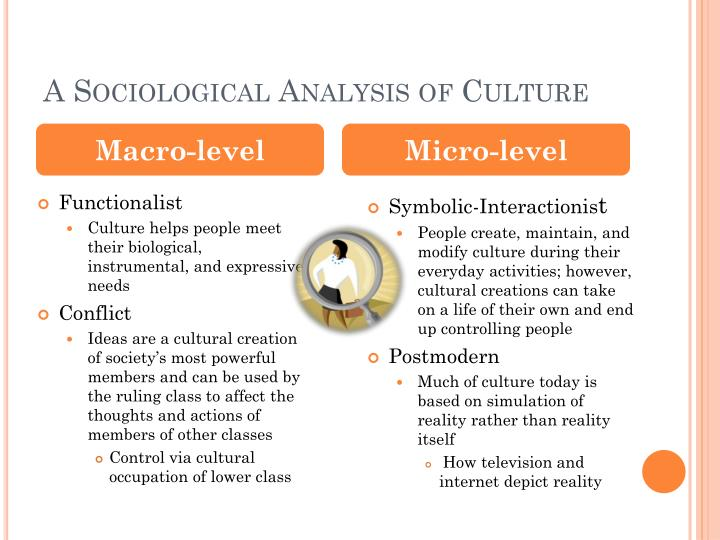 A Sociological Analysis of Culture