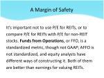 a margin of safety2