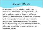 a margin of safety3