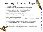 writing a research report12