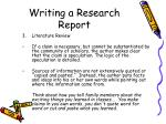 writing a research report14