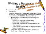 writing a research report15