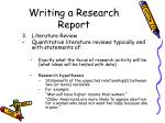 writing a research report16