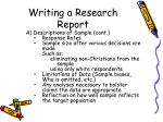 writing a research report19