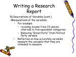 writing a research report21