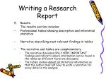 writing a research report25
