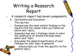 writing a research report29