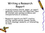 writing a research report3