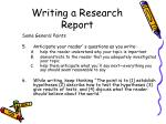 writing a research report36