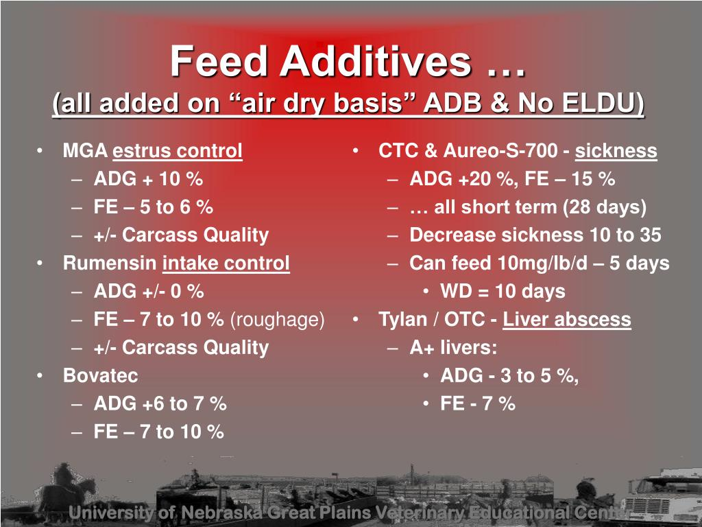 PPT - Vets Working With Feeder Cattle Nutrition PowerPoint
