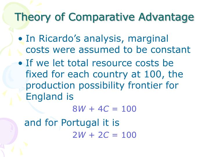 discuss theory of comparative advantage logitech 3 use the theory of comparative advantage to explain the way in which logitech has configured its global operation why does the company manufacture in china and taiwan, undertake basic r&d in california and switzerland, design products in ireland, and coordinate marketing and operations from california.
