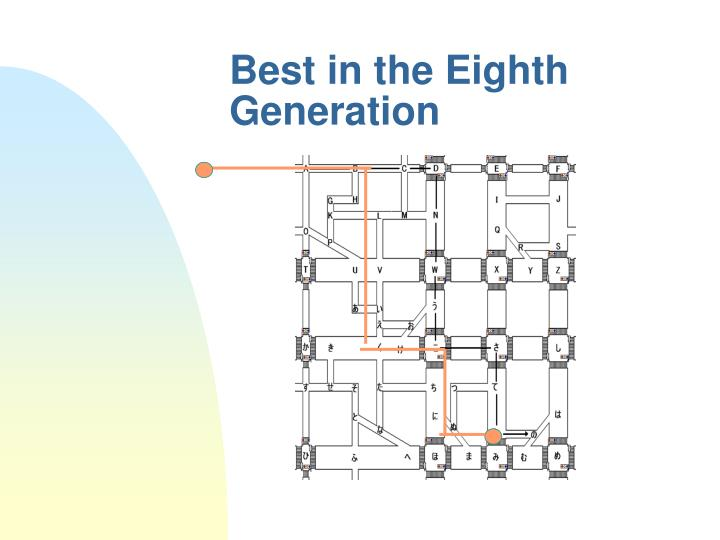 Best in the Eighth Generation