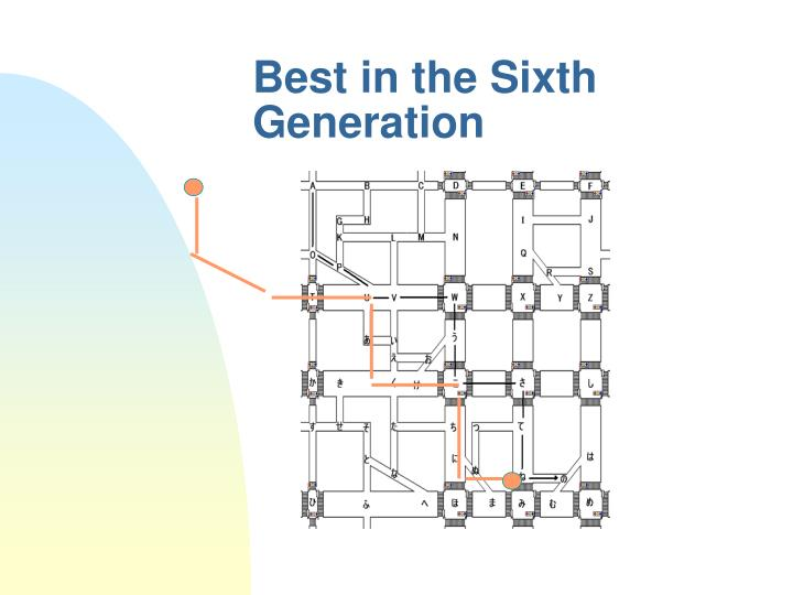 Best in the Sixth Generation