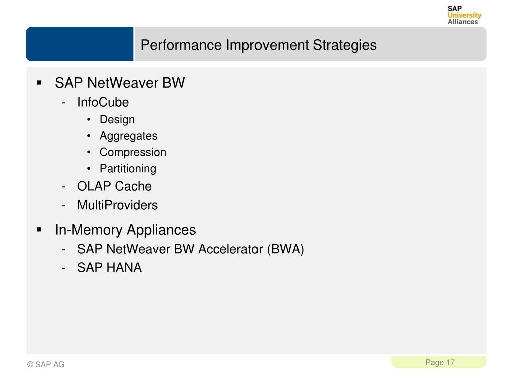 PPT - Introduction to In-Memory Databases for Analytic Applications
