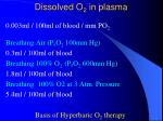 dissolved o 2 in plasma5