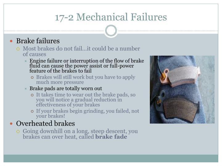 17-2 Mechanical Failures