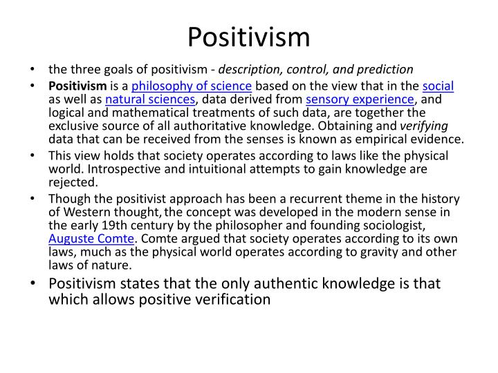language and logical positivism Logical positivism was a school of philosophy which developed in austria in the years following world war one it focused on applying strict logic and empirical observation to describing the world.