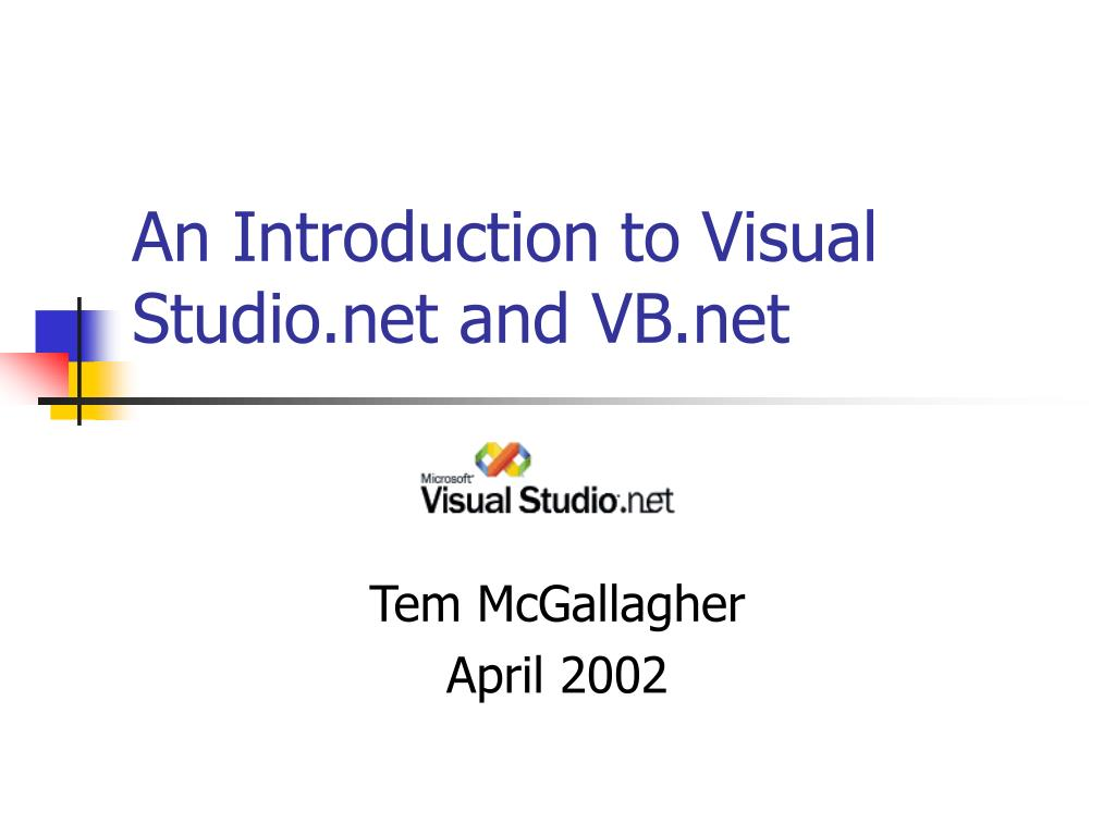 Ppt what's new in visual studio. Net 2005 powerpoint presentation.