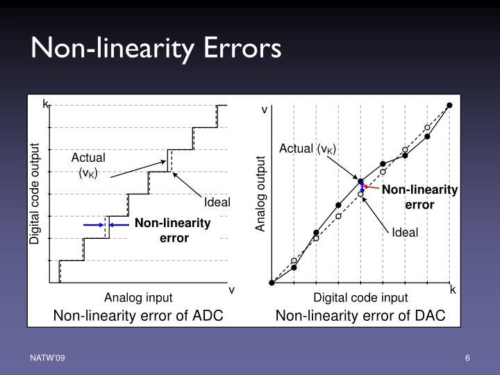 Non-linearity Errors