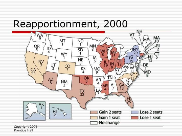 Reapportionment 2000