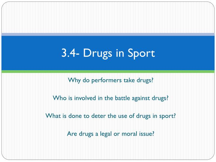 drug abuse in sport thesis Drug use and abuse in sport  by: mike moran spst495 senior thesis  1 abstract performance enhancing and prescription drugs were a growing issue in professional football, as more players in recent years have fallen victim to drug testing resulting in lengthy suspensions and fines this research aimed to show that the culture of.