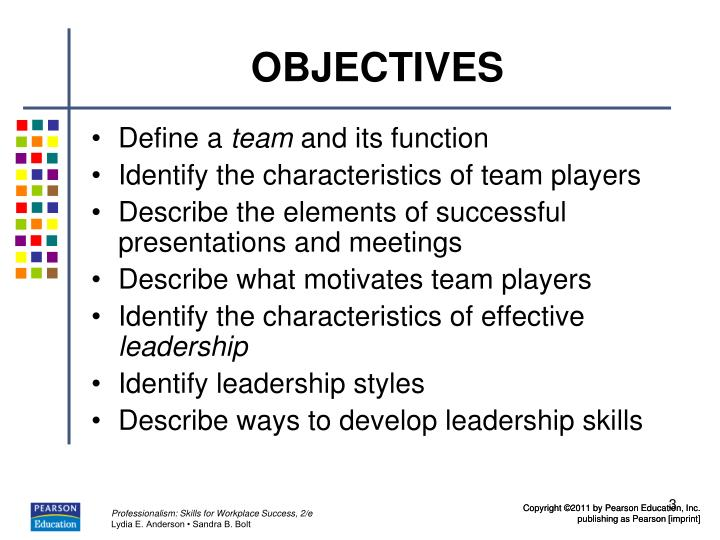 indentifying characteristices of an effective team Realityworks® 8008301416 wwwrealityworkscom 5 characteristics of effective teams think about the characteristics that teams should have in order to be effective.