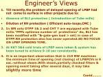 engineer s views