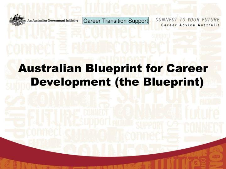 Ppt australian blueprint for career development the blueprint australian blueprint for career development the blueprint malvernweather