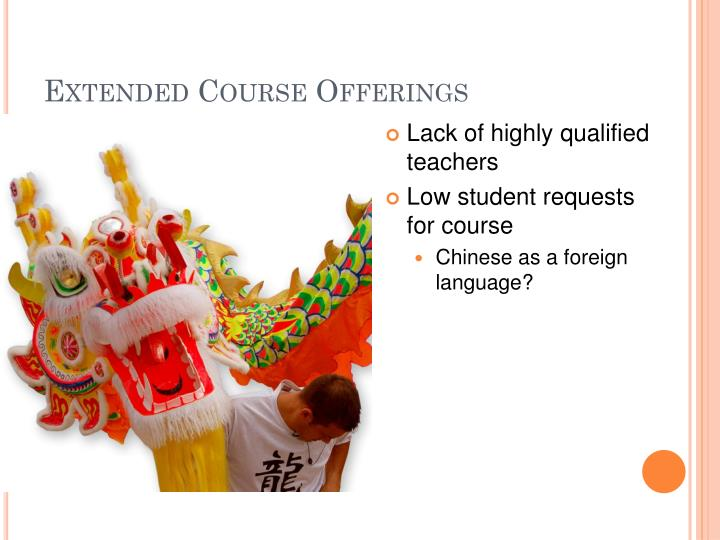 Extended Course Offerings