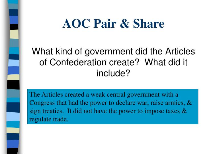 Aoc pair share