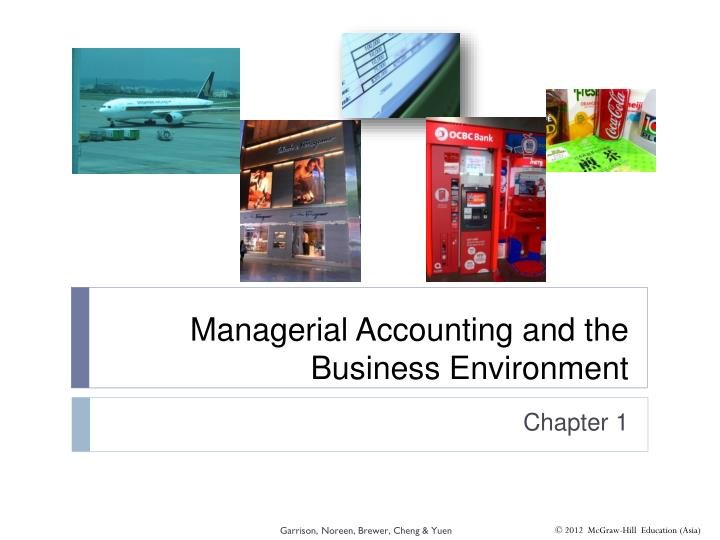 managerial accounting and the business environment n.
