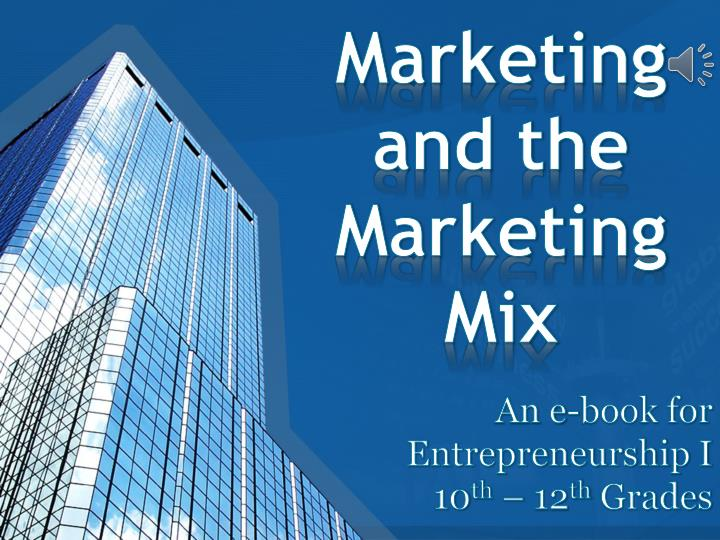 marketing and the marketing mix n.