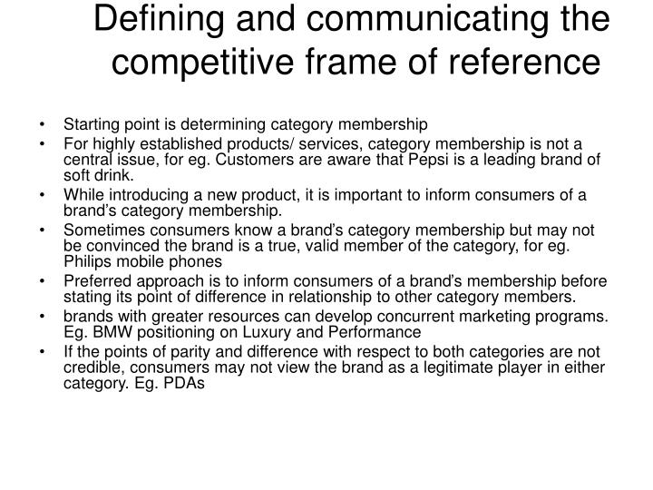 Competitive Frame Of Reference - Page 4 - Frame Design & Reviews ✓