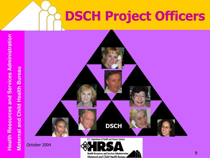 DSCH Project Officers