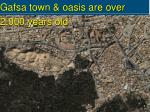 gafsa town oasis are over 2 000 years old