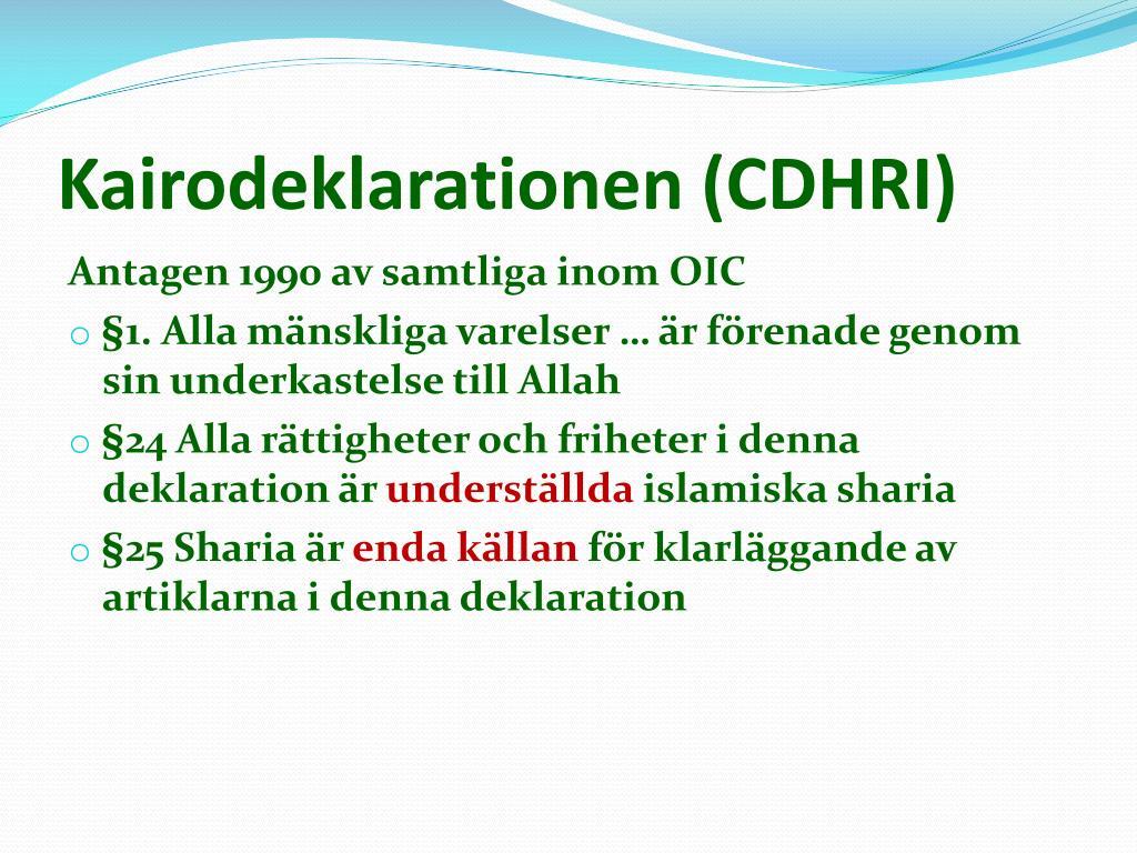 PPT - Islam ─ en holistisk översikt PowerPoint Presentation, free download  - ID:2950386