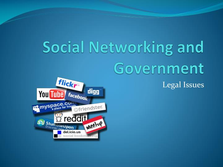 social networking and government n.