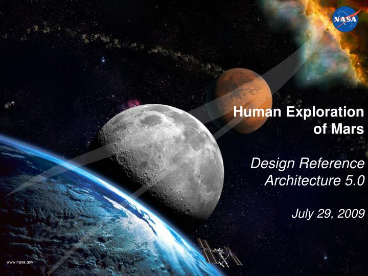 PPT - Human Exploration of Mars Design Reference