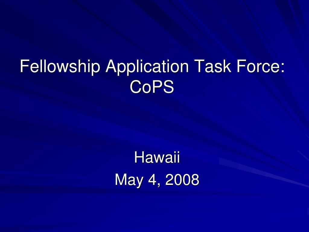 PPT - Council Meeting Honolulu, Hawaii May 4, 2008