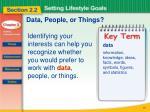 data people or things