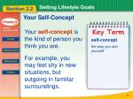 your self concept